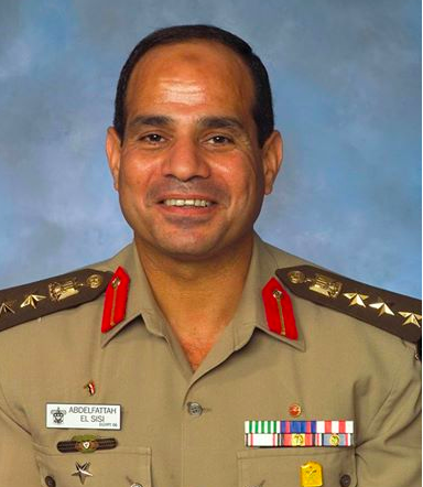 Field Marshall al-Sisi Ameican War College Grad