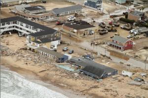 Southern Rhode Island Coastline after Hurricane #Sandy